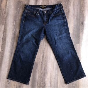 Lucky Brand Danville Classic Rider Crop Jean 10 30